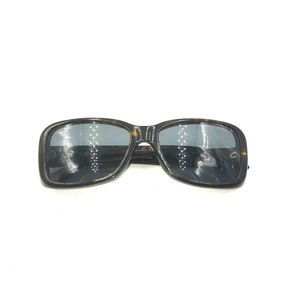 Ralph Lauren Dark Tortoise Rectangle Sunglasses